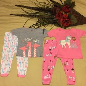 Child of mine by Carter's PJ's sets
